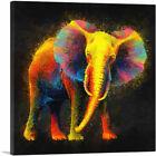 ARTCANVAS Elephant African Asian Canvas Art Print