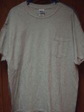 XL Gray Gildan Pocket T-shirt