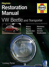 RESTORATION SHOP MANUAL BEETLE PORTER VW VOLKSWAGEN VAN BUG BOOK TRANSPORTER BUS