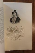Jeanne de Flandreysy Figures Contemporaines Mariani Biographie 1904 1/150 ex.