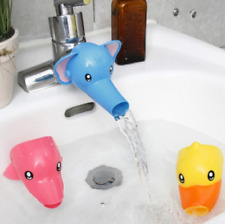 Cartoon Bathing Accs Water Faucet Extender For Kid Hand Washing Child Sink Guide