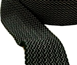 Wide Black and White Wavy Elastic Waistbands Cuffs Sewing Stretch Multipurpose
