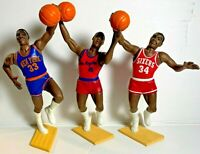 BARKLEY EWING MANNING Open 1988 Kenner Starting Lineup SLU LOT x3 Rookie Figures