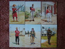 6 Card Set No 29 Military Postcards THE COLDSTREAM GUARDS. Mint condition.