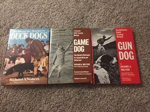 Richard A. Wolters Hardcover Hunting Dog Training Books Gun Game Duck