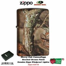 Zippo Mossy Oak Camouflage Lighter, Unique Design on Each, Windproof #28738