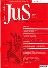 JuS Juristische Schulung 7/2017 - Zeitschrift für Studium und Referendariat