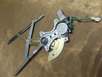 Toyota Corolla 97-02 3 dr Passenger left front electric window regulator Motor
