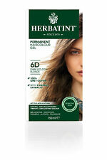 Herbatint Herbal Ammonia Natural Hair Colour Dye 150ml Dark Golden Blonde 6d