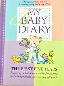 My Baby Diary Record Book The First Five Years Hard Cover CHRISTINA FORBES NEW
