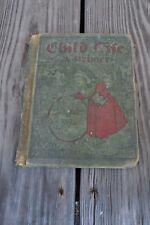 Antique Child's Primer Book  The Child Life Primer Published 1918 Blaisdell