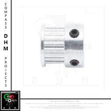 Puleggia T2.5 16 denti in alluminio - 16 teeth T2.5 pulley aluminum - pulegge 3D
