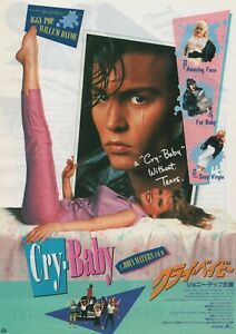 Cry-Baby 1990 John Waters ‎Amy Locane Chirashi Movie Flyer Poster B5 Japan
