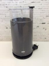 Braun Aromatic KSM2 Coffee Grinder Gray Clean! Works Reinhold Weiss Dieter Rams