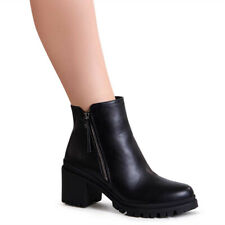 Women's Shoes Ankle Boots Platform Court Trendy