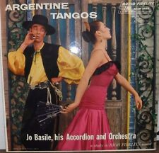 Argentine Tangos Joe Basile his accordion/orchestra AFLP8169 HF Sound 110616LLE