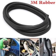 Universal 3M Car Door Edge Trim Protector Steel & Rubber Seal Strip Weatherstrip