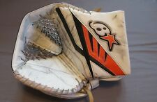 Used Steve Mason Brians Subzero 3 Pro Stock Goalie Catcher. Right Hand Flyers
