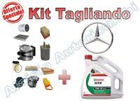 KIT TAGLIANDO OLIO CASTROL GTX. + FILTRI MERCEDES A140/160 (W168) FINO AL 2004