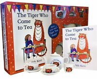 The Tiger Who Came to Tea  Book and China Tea Set Children Gift Pack Judith Kerr