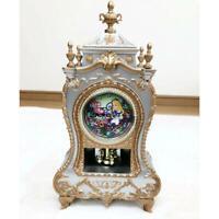 MINT LIMITED Disney  Castle Clock L Alice In Wonderland 2 Game Prize Item Japan