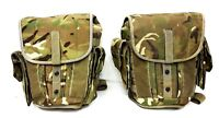 British Army Camouflage Cordura Camo Pair Of Throw Over Motorcycle Pannier Bags