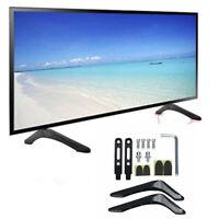 "Adjustable Universal TV Stand Base Mount for 32""- 65"" Samsung LG Vizio Sony TVs"