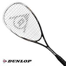 Dunlop FURY 50 Squashschläger inkl. Hülle und Besaitung - UVP 79,95 €