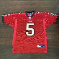 REEBOK NFL On Field Josh Freeman Tampa Bay Bucs Football Jersey Large