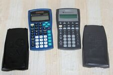 Texas Instruments Lot (2) Ti-34 Ii & Ba Ii Plus Business Analyst Calculators