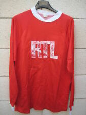 VINTAGE Maillot porté STADE de REIMS Coupe ancien RTL shirt n°3 L