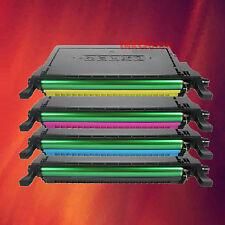 4 Color Toner Set for Samsung CLX-6200FX CLX-6200ND
