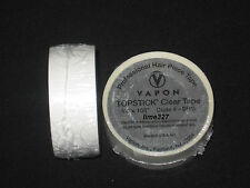 "Vapon Topstick Clear 3/4""x 108""(3YDS) Professional Hair Piece Tape Roll~Lace Wig"