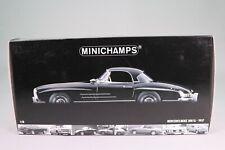 LE1020 MINICHAMPS 180039040 Voiture 1/18 Mercedes Benz 300SL hard top 1957 noire