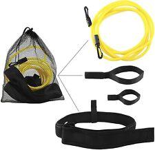 SGE Swim Training Belt - Endless Stationary Pool Trainer, Foam Waist Strap