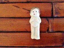 """Vintage Japan Cute 2"""" Bisque Kewpie Dollhouse Doll"""