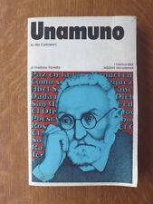 Foresta UNAMUNO la vita il pensiero - 1976 – Edizioni Accademia
