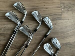 RH Callaway X-Forged Irons 4-P Project X 6.0 Stiff Shafts Excellent Condition