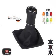 Original ICT pommeau schaltsack cuir vw golf sportsvan éclairé LED C 03