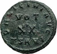 LICINIUS I Constantine I enemy 320AD RARE Authentic Ancient Roman Coin i76121