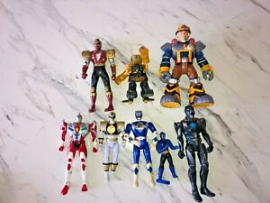 Vintage Action Figure Mixed Lot Power Rangers ++ (8) Total Figures