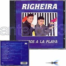 "RIGHEIRA ""VAMOS A LA PLAYA"" RARO CD CGD - ITALO DISCO"