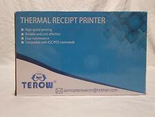 Terow T5890k Usb Thermal Receipt Printer 58mm Pos Printer Portable Label Printer