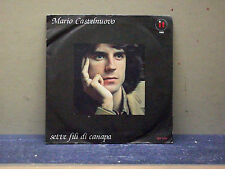 """MARIO CASTELNUOVO-45- """"SETTE FILI DI CANAPA-VIALE DEI PERSI""""----M/M"""