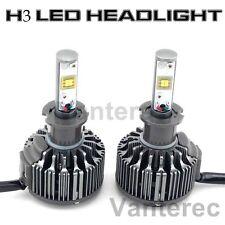 H3 HID White 6000K Bulb Lights Car 60W 7600LM CREE LED Conversion Headlight KIT