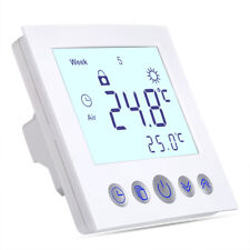 LCD Digital Electric Thermostat Room Underfloor Heating Temp Control 230V 16A