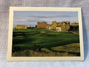 Linda Hartough Exclusive Selection St Andrews Old Course 12 Note Cards Golf Card