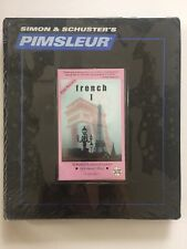 Simon Schuster's Pimsleur French I Euro Edition 16 Discs 30 Lessons