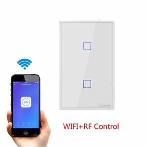 Sonoff T2 Interruttore 2 Touch WIFI Parete Interruttore Luce Senza Fili 2 Gang I