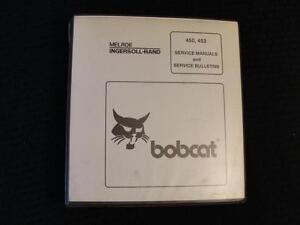 Originale Bobcat 450 453 Minipala Carico Trattore Servizio Riparazione Manuale